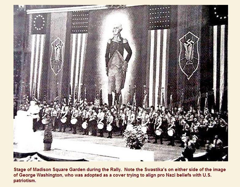7_1939 США, съезд американских нацистов