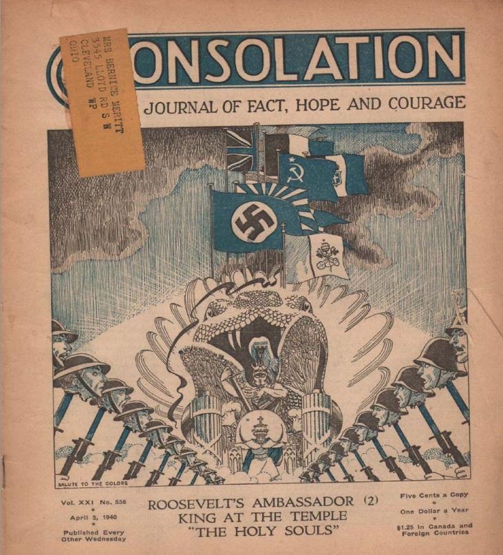 11_Утешение обложка апрель 1940 г._ Нет американского флага