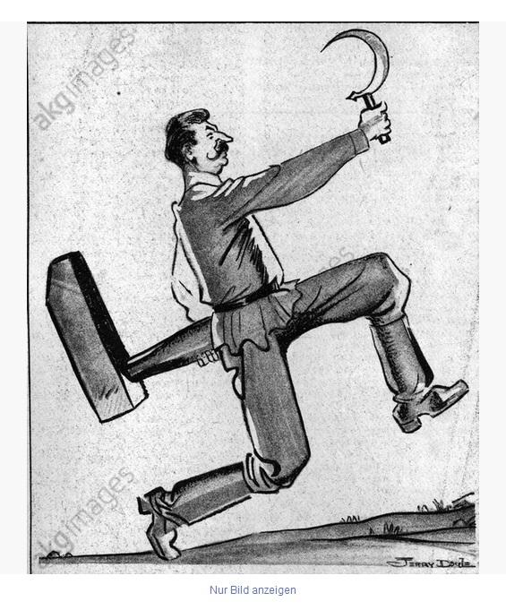 16_Карикатура на Сталина_1939 год
