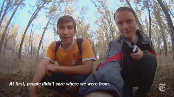 Александр Крюков и Павел Павлов СИ из Луганска