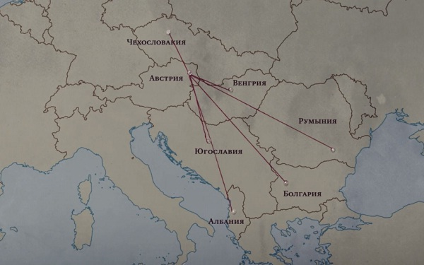 Карта из рассказа от Геррита Леша
