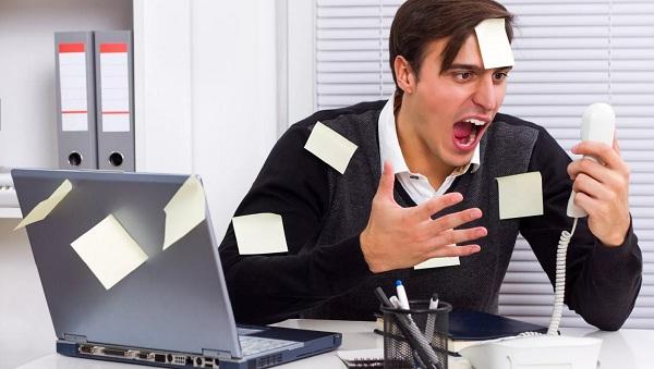Менеджер в работе