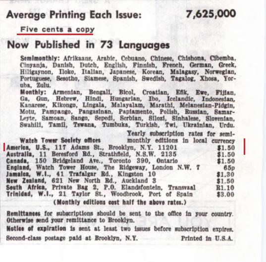 17_Годовая подписка (стоимость) _1972 год