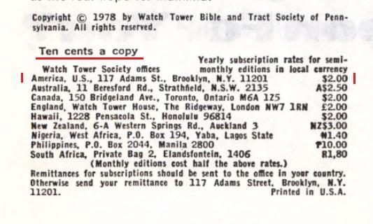 21_Годовая подписка (стоимость) _1979 год