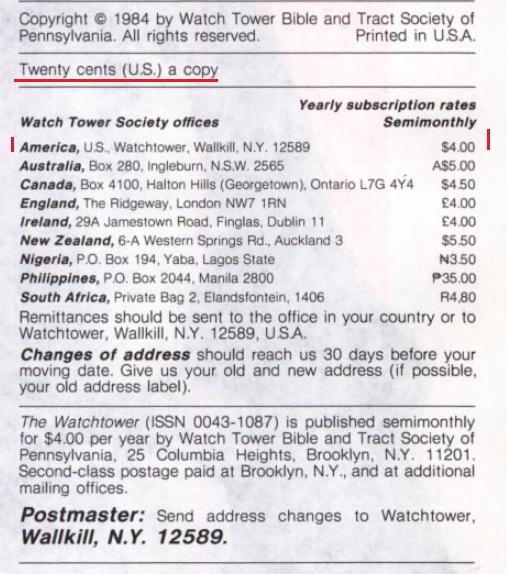 29_Годовая подписка (стоимость) _1984 год