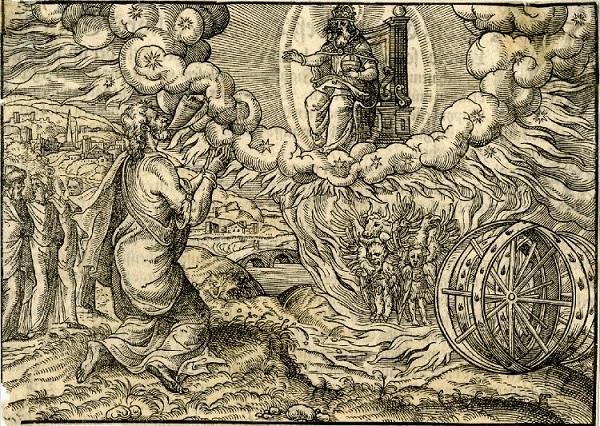 Иезекииль и колесница Иеговы_2