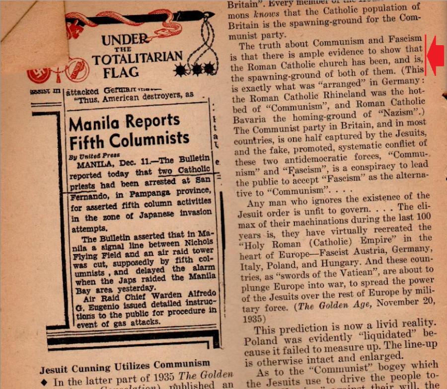 Утешение_Январь 1942 (Коммуниз и Нацизм из Катол. церкви)