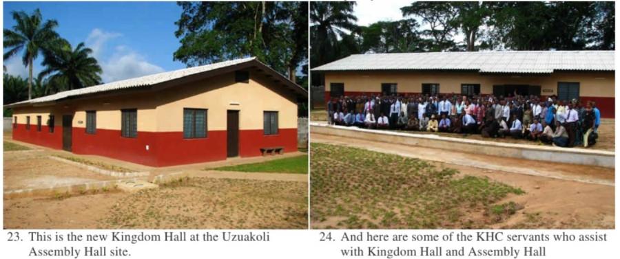 Зал царства в Нигерии