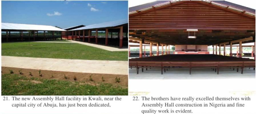 Залы Конгрессов в Нигерии
