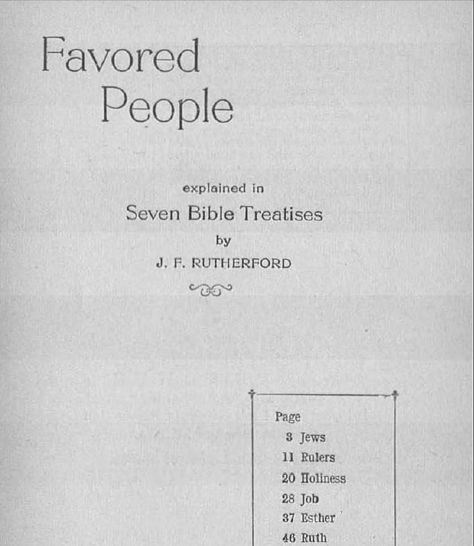 Титульный лист Привилегированного народа (англ)_1934_1
