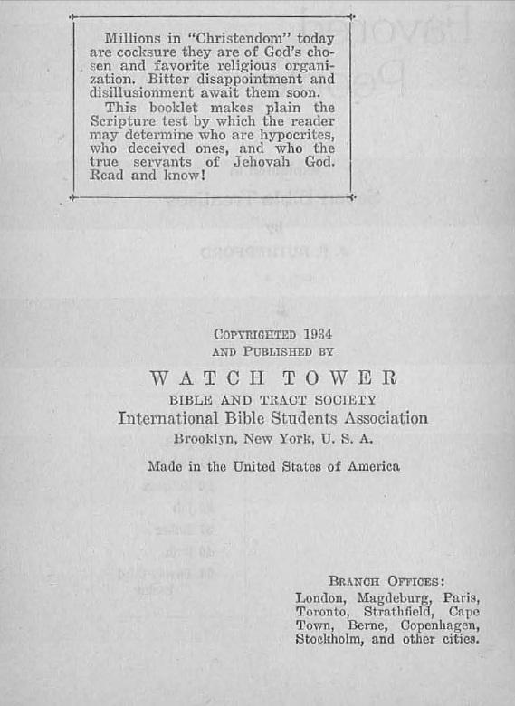 Титульный лист Привилегированного народа (англ)_1934_2