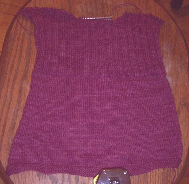 baby sweater back