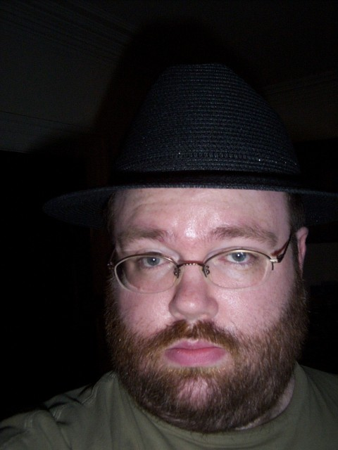 Me wearing hat