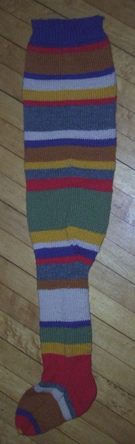 sock #2 -- side view