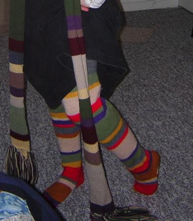 Modelling the socks