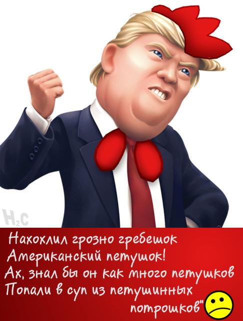 Н2С Трамп, Америка