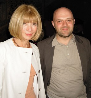 When did Nuclear Wintour go blonde?