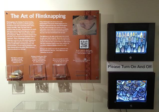 exhibit sign