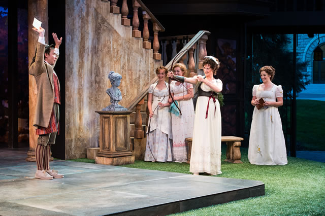 a personal analysis of the rendition of the play loves labours lost by the utah shakespeare festival