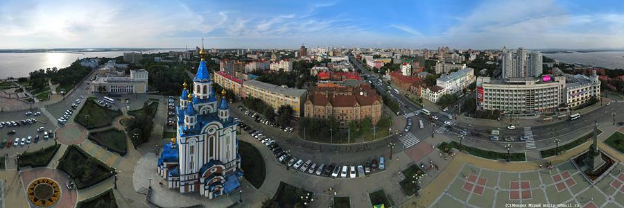 gorod_ha: Три интерактивные панорамы площадей Хабаровска