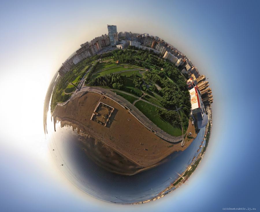 Глобус парка 300 летия-900