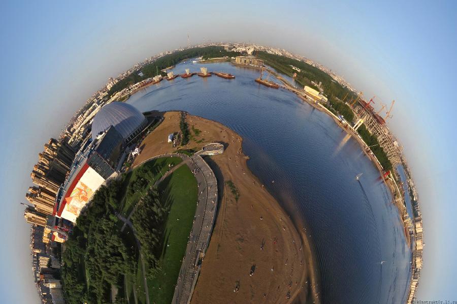 Полуглобус-ЗСД и аквапарк-900