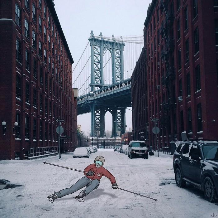 Eliska Podzimkova Нью-Йорк
