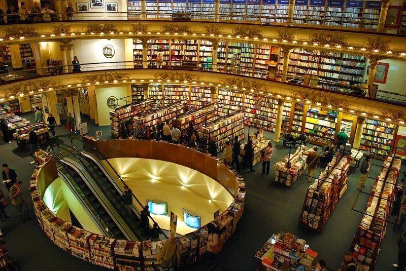 книжный магазин El Ateneo Grand Splendid