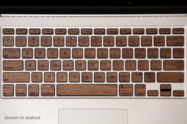 Деревянные клавиши для клавиатуры