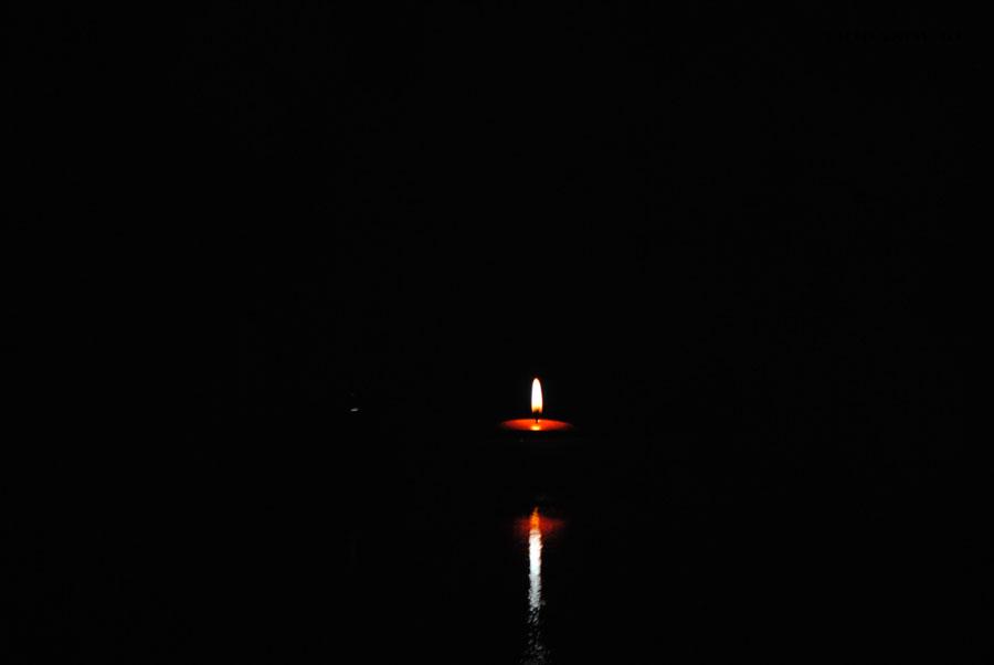 свеча скорби