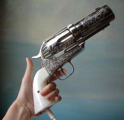 Ретро-фен из пистолета Magnum