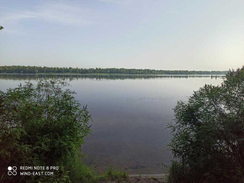 Река Днепр в районе Лесопарка