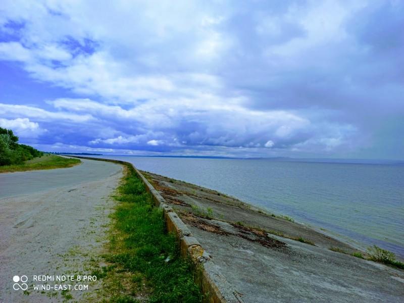 Орельская дамба и днепровский простор