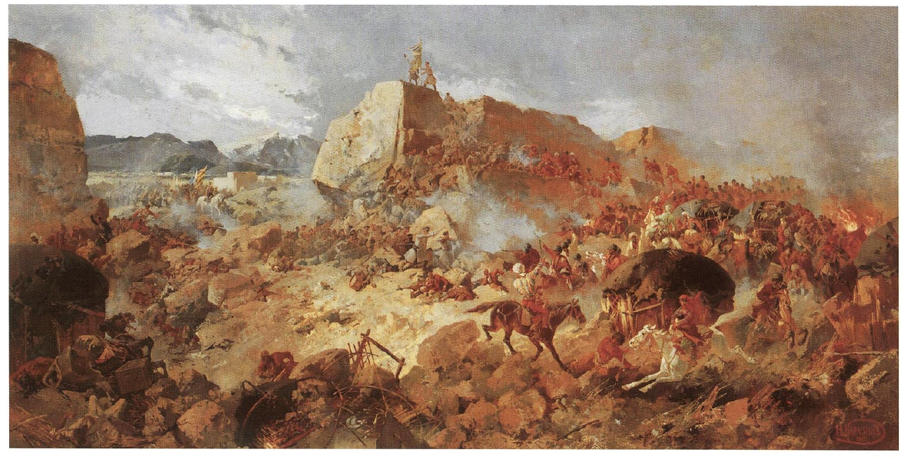 Siege_of_Geok_Tepe