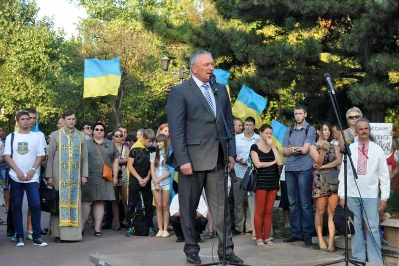 Губернатор Баранов в сентябре
