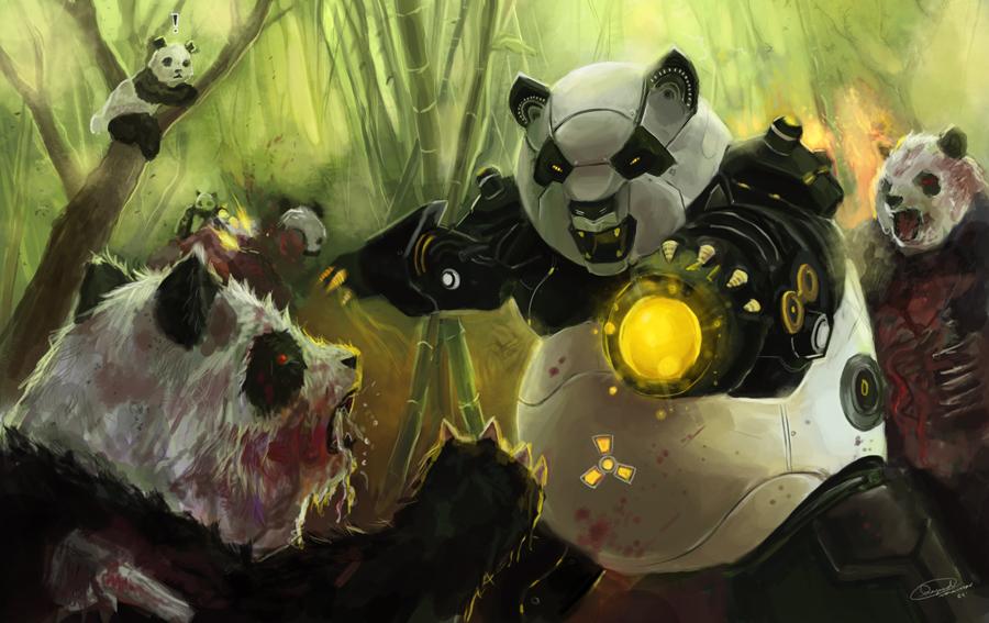 Zombie_Pandas_VS_Panda_Robots_by_Raydiant