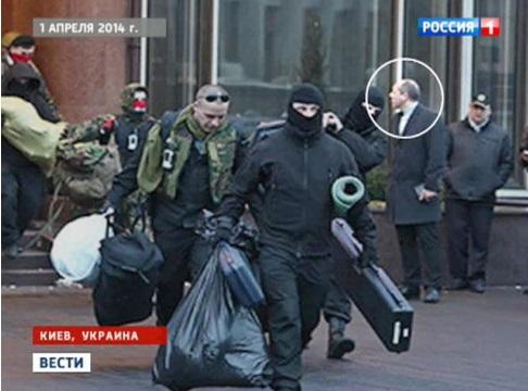 Киев 1 апреля  2014 труппа отправляется на гастроли