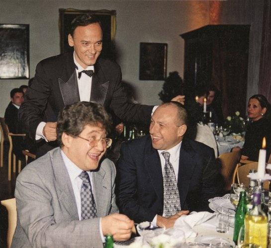 Игорь Коломойский и Геннаий Боголюбов в 1997 году