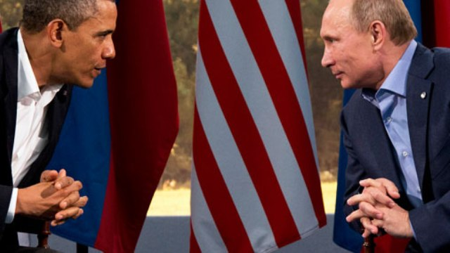 Обама - Путин взв