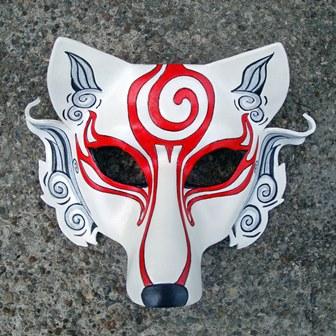 white mask web