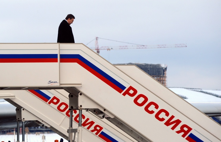 Янукович в РФ