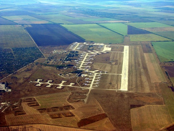 Мелитополь аэродром