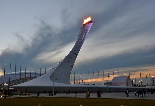 Сочи чаша Олимпийского огня