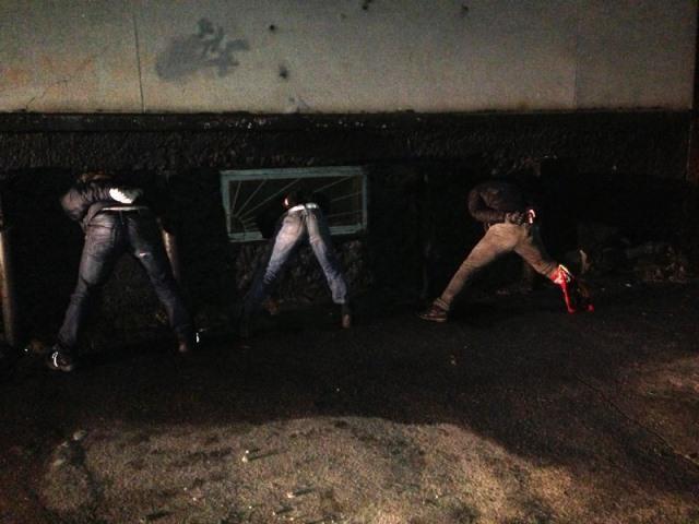 Задержанные гренадеры в Херсоне