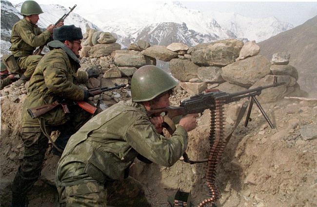 Пример: Гражданская война в Таджикистане