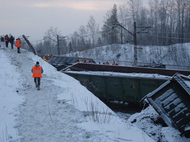 20140212 Авария под Златоустом Челябинская область