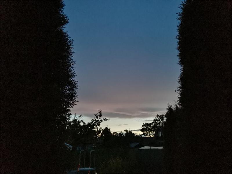 Ночное небо над Ладогой
