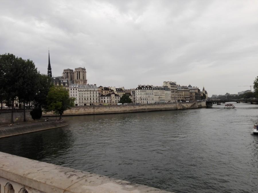 Переходим на правый берег Сены.