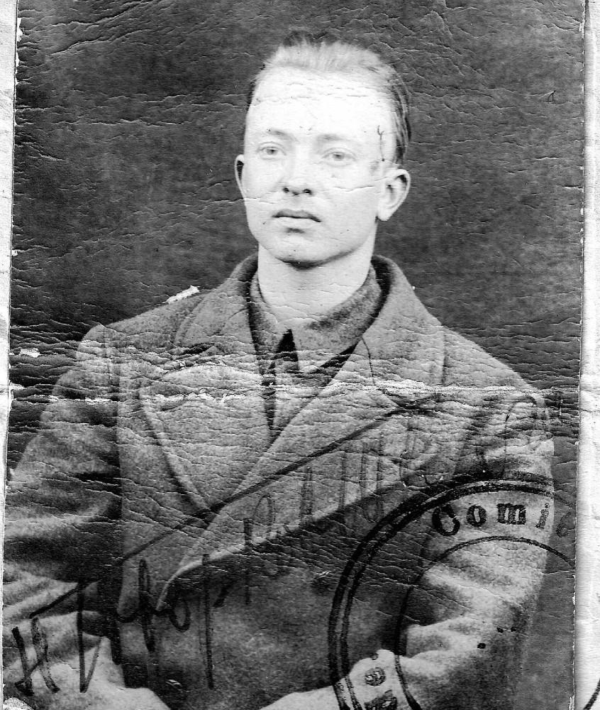 Николай Николаевич Швахгейм. Фото 1920 г.