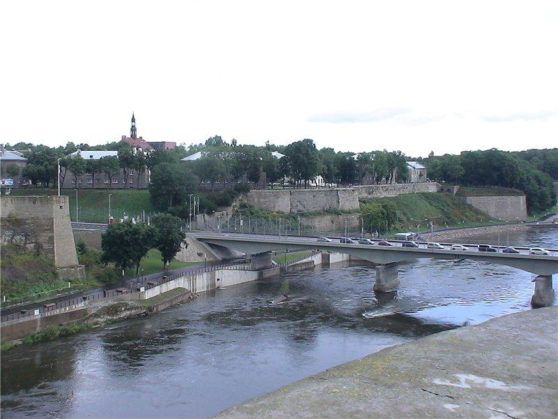 Мост в Эстонию.